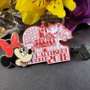 4/$25 Disney World Minnie 2018 Pin